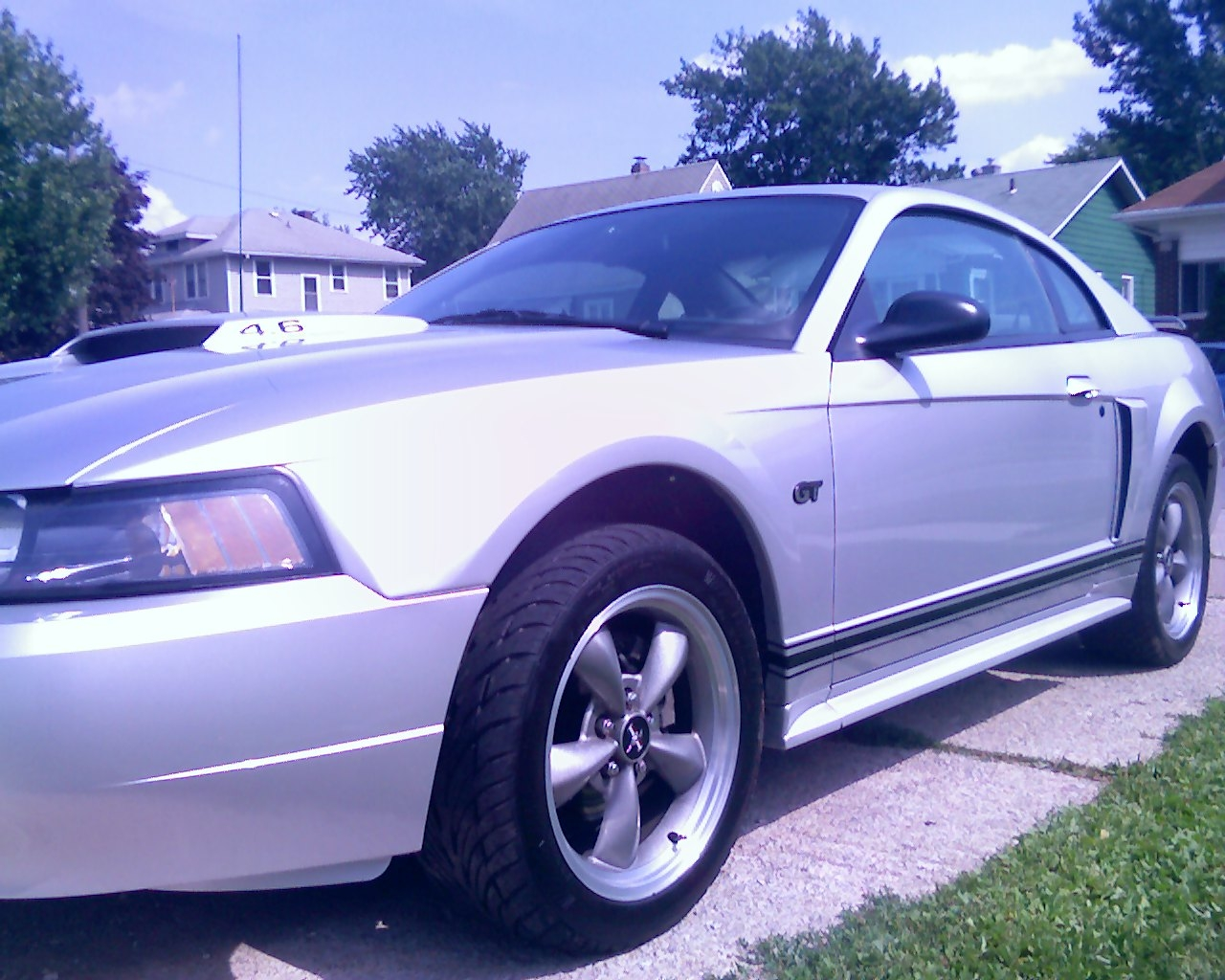2001 Ford Mustang GT SLP Long Tubes