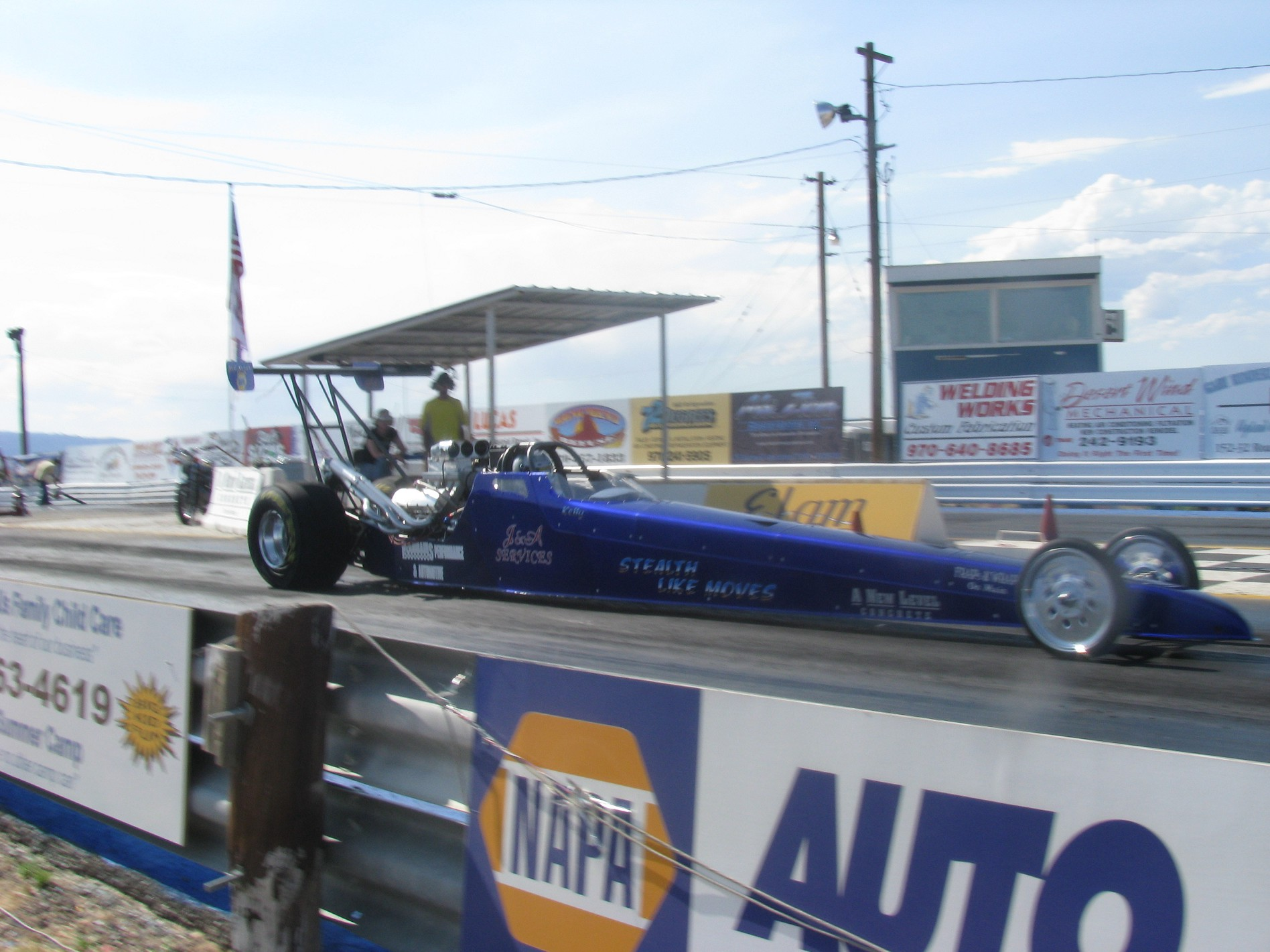 2003 Dragster Rear Engine Triple slip