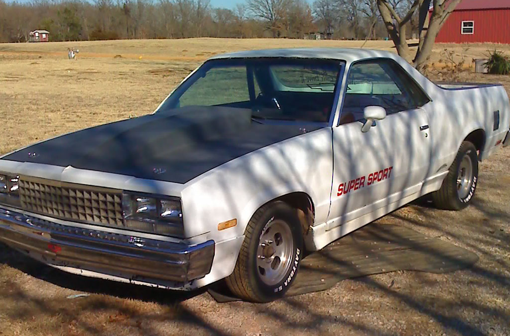 1982  Chevrolet El Camino ss picture, mods, upgrades