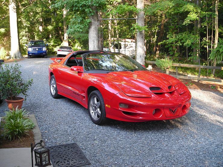 2001 Pontiac Trans Am Ws6