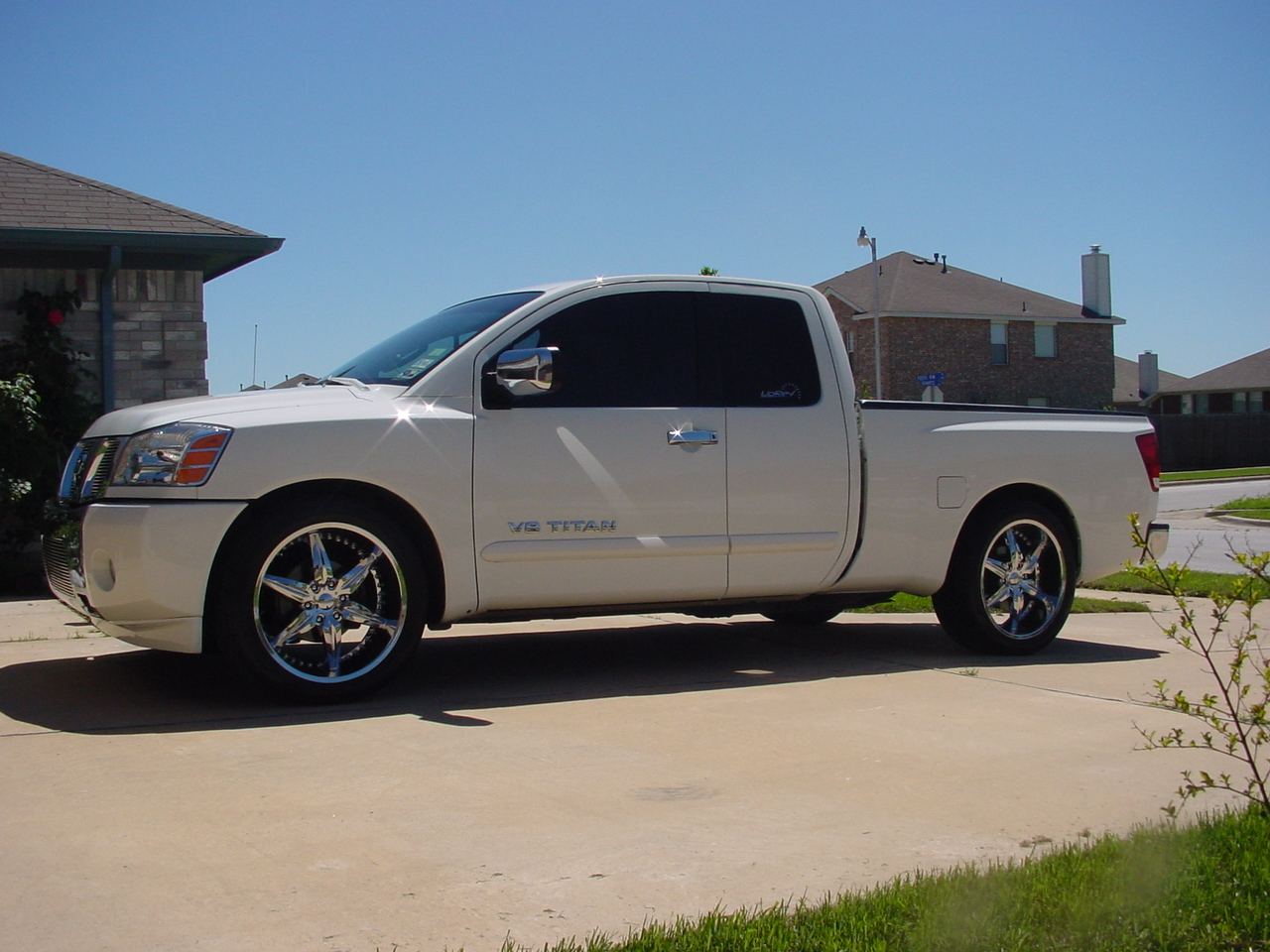 2005 Nissan Titan Se 4x2 Naturally Aspirated 1 4 Mile Trap