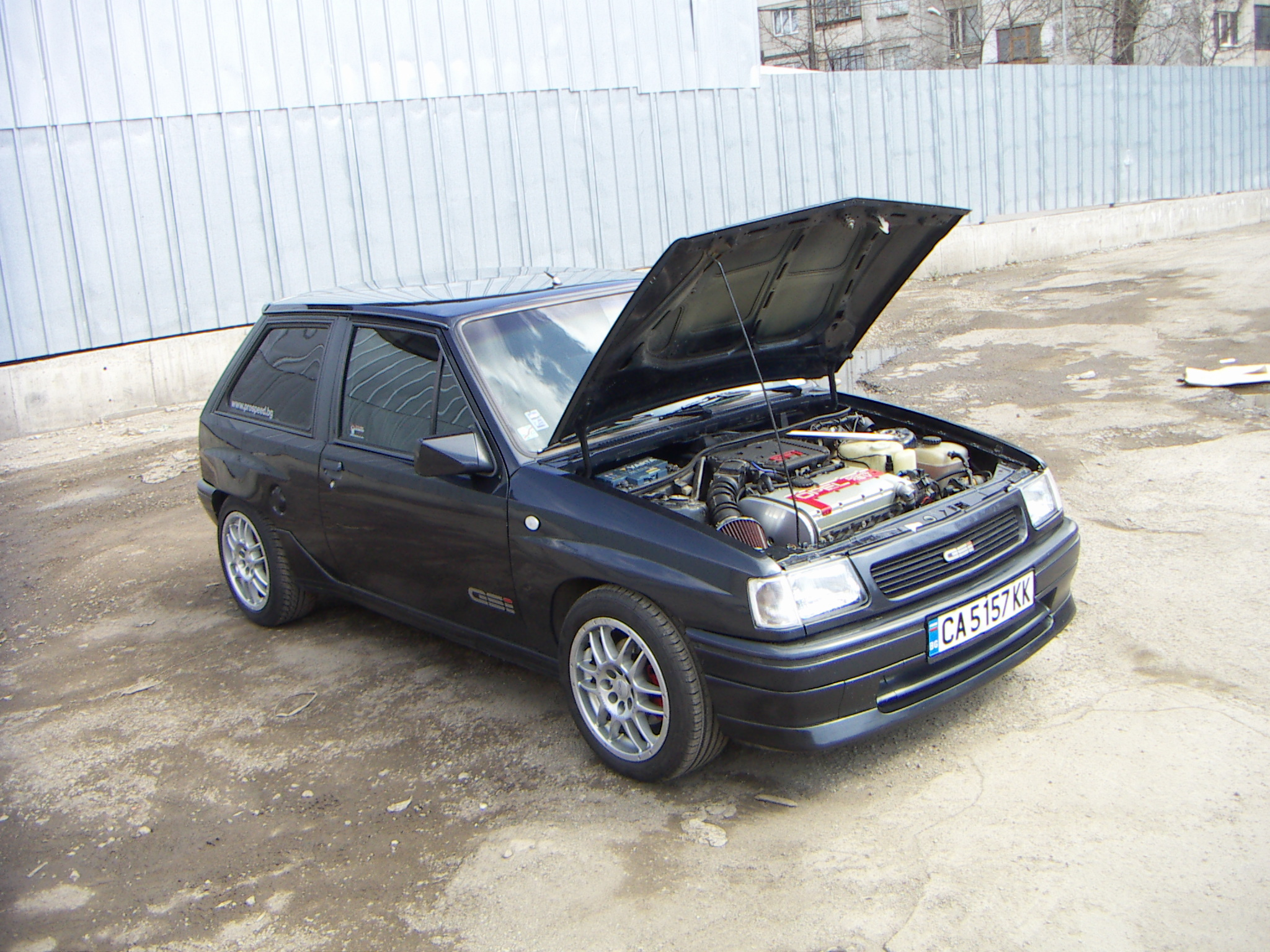 1991  Opel Corsa А picture, mods, upgrades