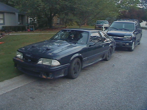 1988 Ford Mustang GT Nitrous