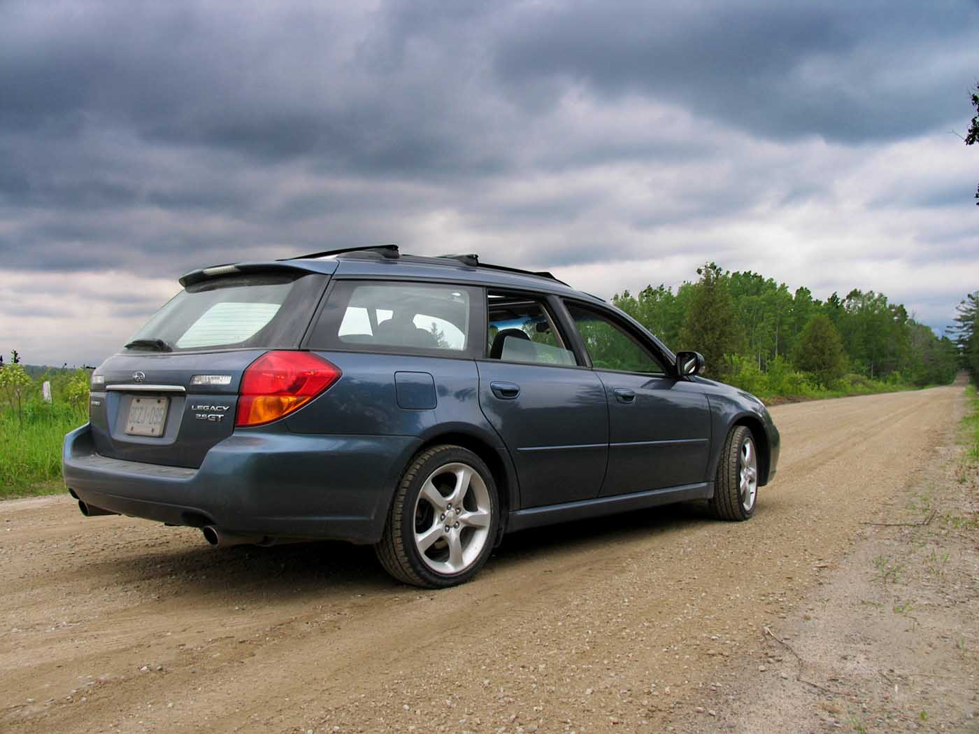 2005  Subaru Legacy GT LTD Wagon picture, mods, upgrades