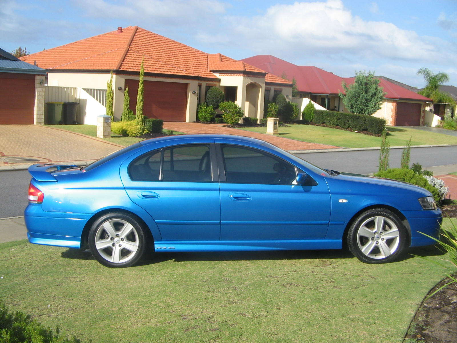 2003 Ford Falcon Xr6 Turbo 1 4 Mile Trap Speeds 0 60 Dragtimes Com