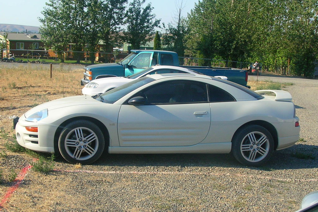 Stock 2003 Mitsubishi Eclipse GT 1/4 mile Drag Racing timeslip specs