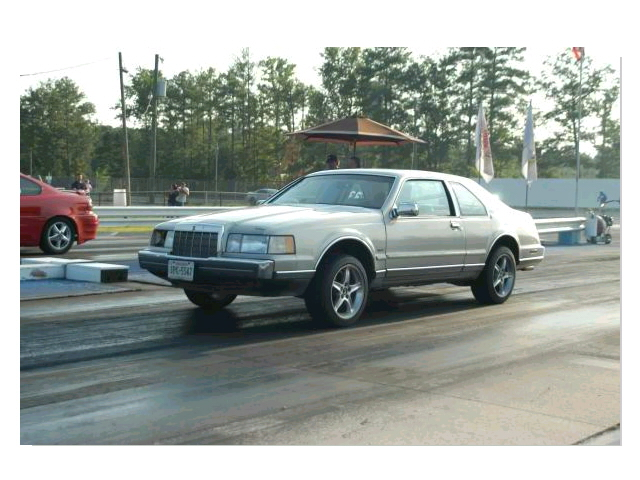 1992 Lincoln Mark Vii Lsc 1 4 Mile Trap Speeds 0 60 Dragtimes Com