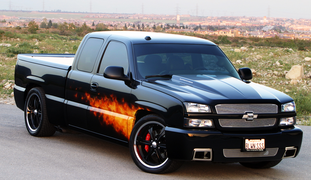 You can vote for this Chevrolet CK1500 Truck Silverado SS to be the featured