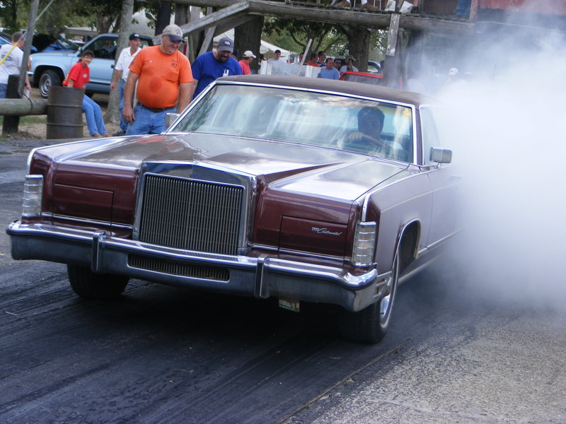 1978 Lincoln Continental Town Car 1 8 Mile Drag Racing Timeslip 0 60