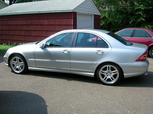 2002  Mercedes-Benz C32 AMG  picture, mods, upgrades