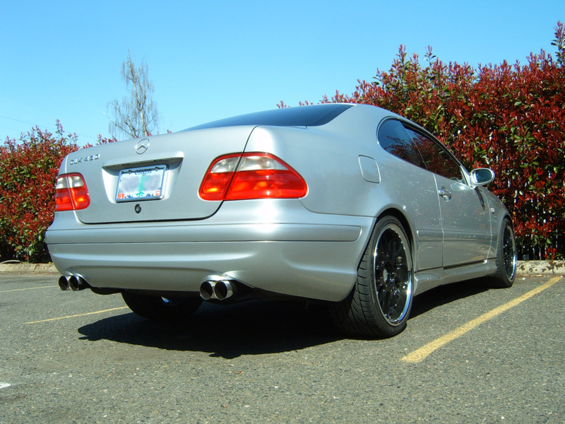 2001  Mercedes-Benz CLK55 AMG  picture, mods, upgrades