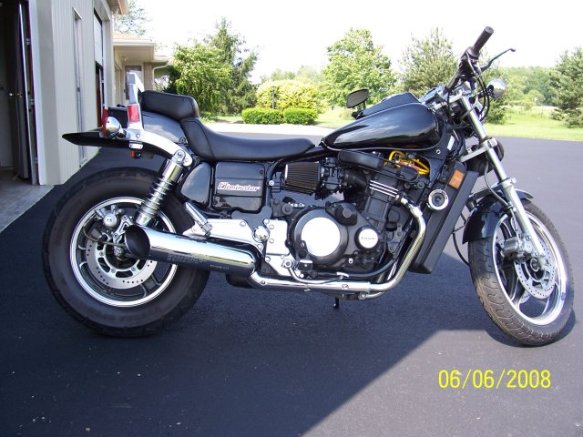 1985  Kawasaki ZL 900 Eliminator picture, mods, upgrades