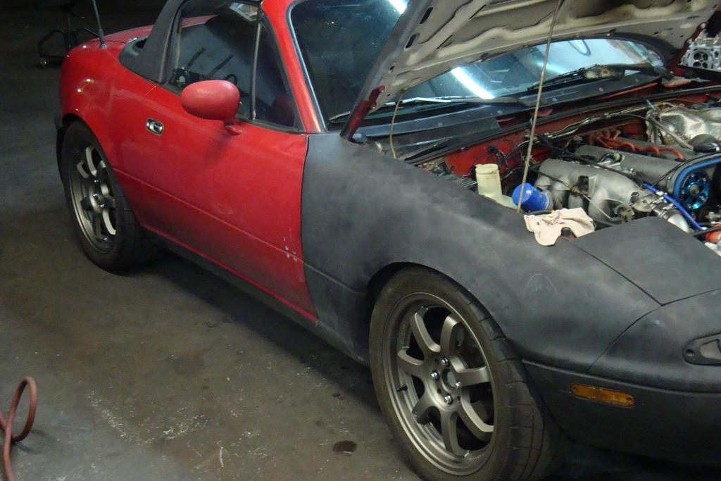 1991  Mazda Miata MX5  picture, mods, upgrades