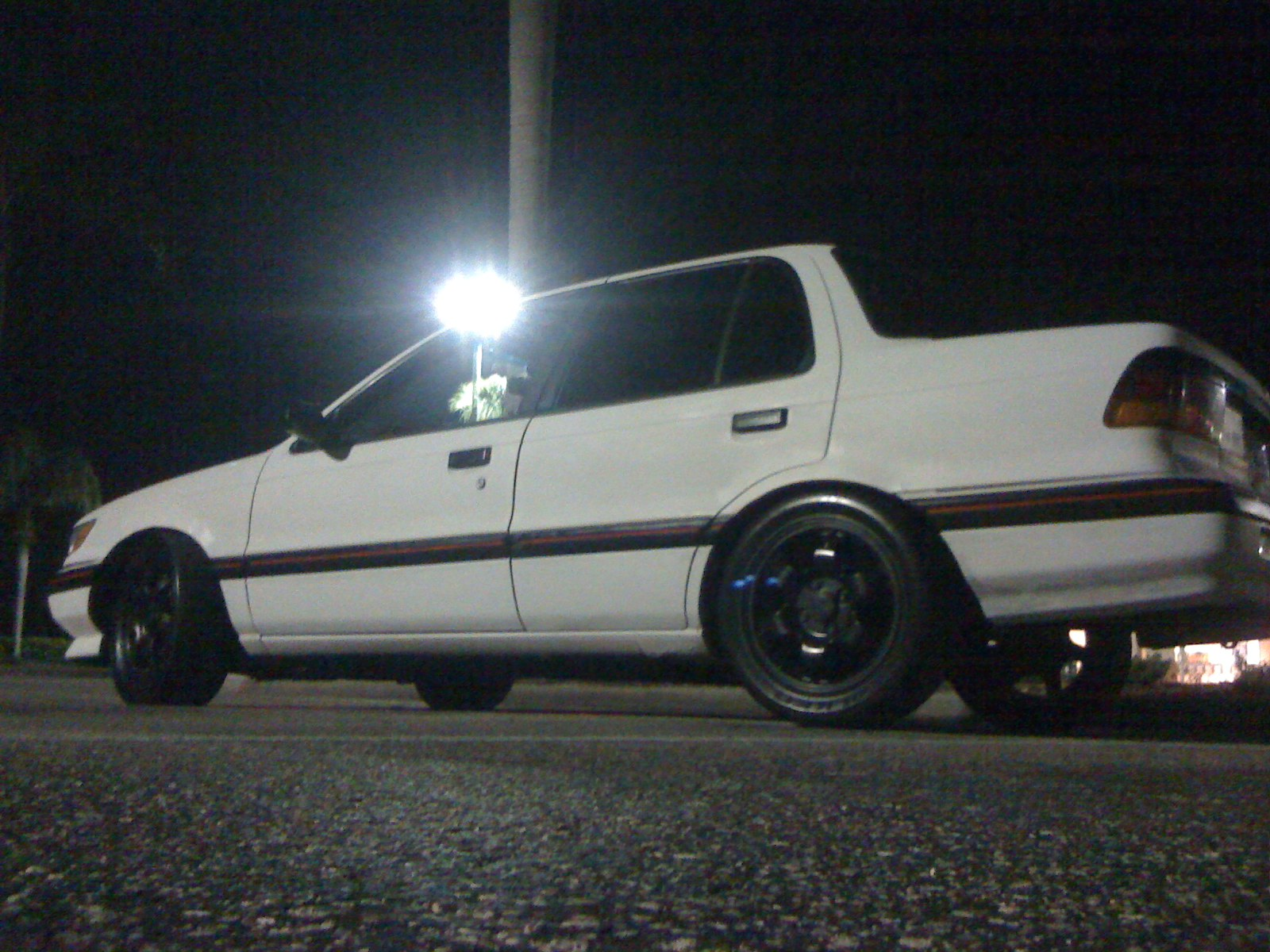 1991  Mitsubishi Mirage 4door LS picture, mods, upgrades