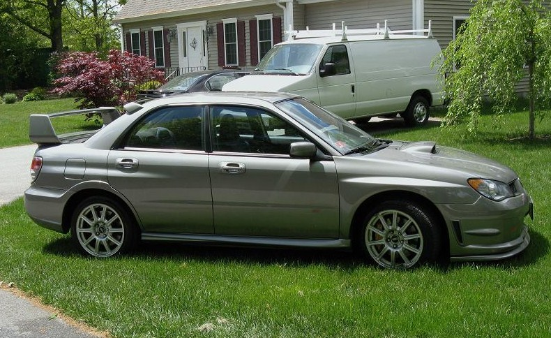 2006  Subaru Impreza STI picture, mods, upgrades