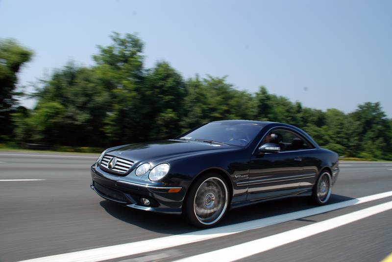 2005 mercedes benz cl65 amg 1 4 mile drag racing timeslip for Mercedes benz cl65 amg coupe