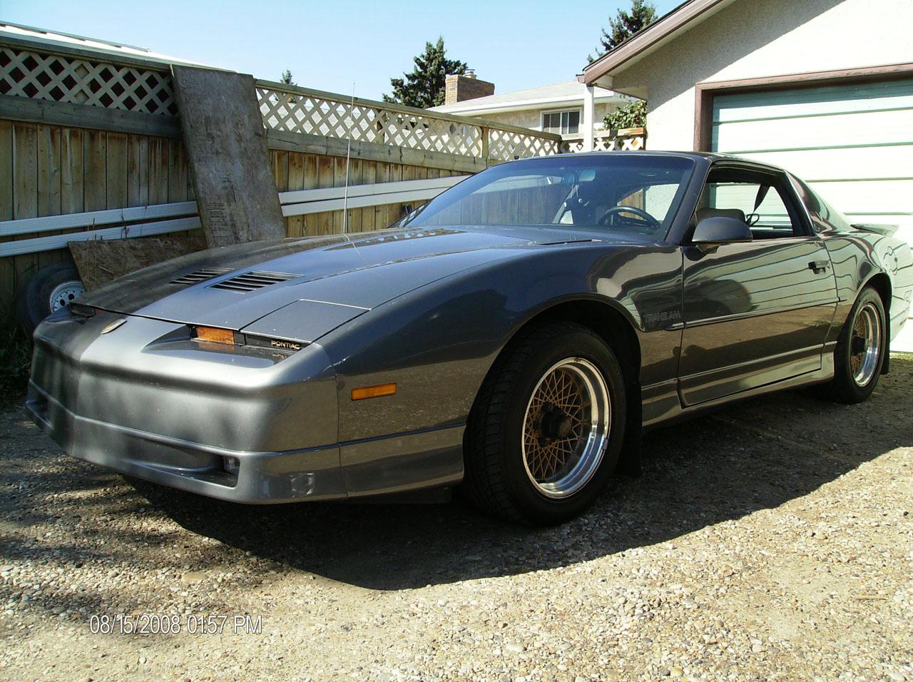 1989 Pontiac Trans Am gta 1/4 mile Drag Racing timeslip specs 0-60 ...