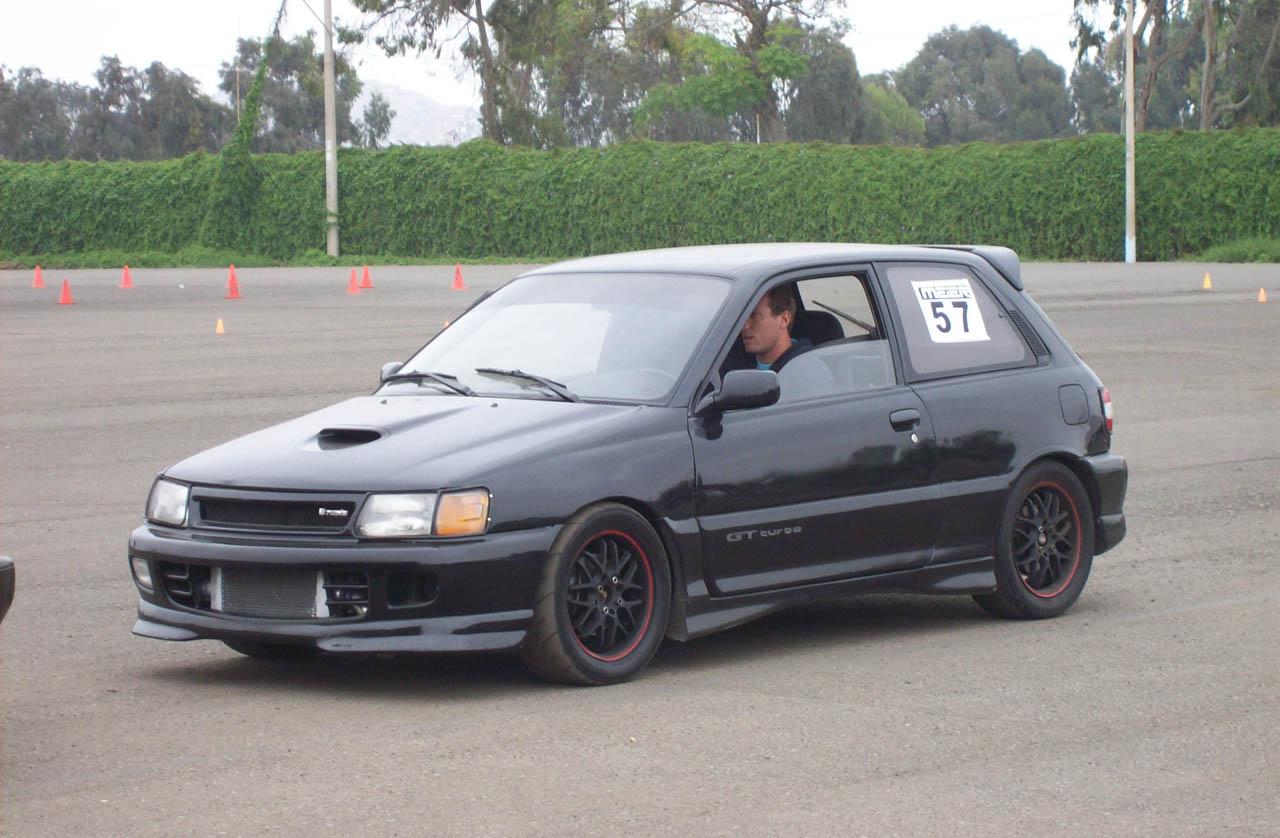 1994 Toyota Starlet Gt Turbo 1  4 Mile Drag Racing Timeslip Specs 0-60