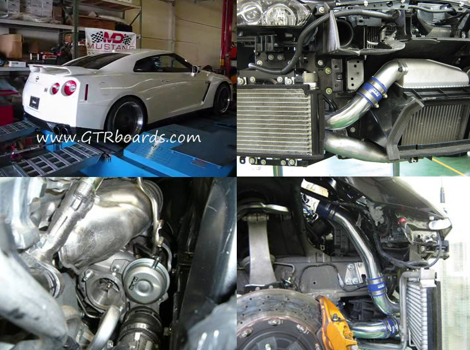 2009  Nissan GT-R HKS GT570 picture, mods, upgrades
