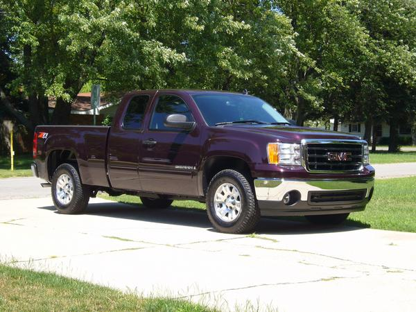2008  GMC Sierra CK1500 SLE picture, mods, upgrades