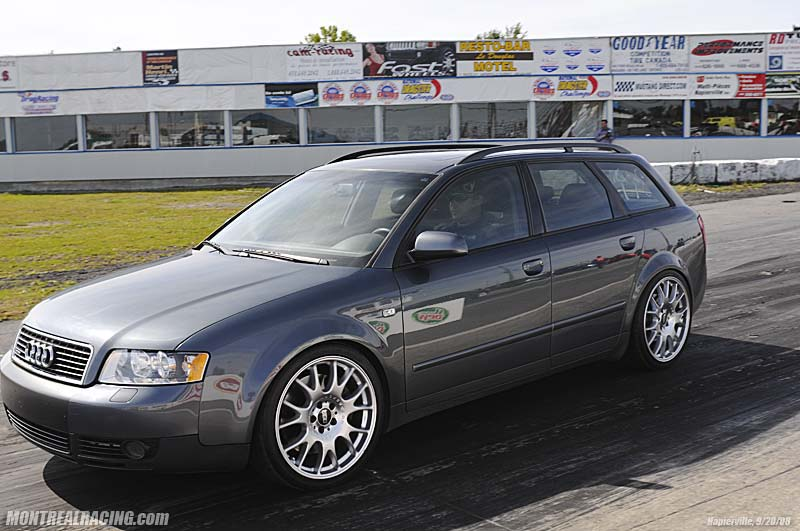 2003 Audi A4 1.8T 1/4 mile trap speeds 0-60 - DragTimes.com