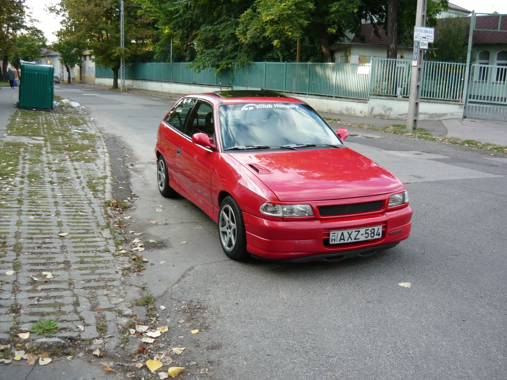 1992  Opel Astra GSI picture, mods, upgrades