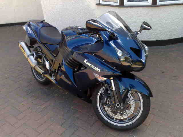 2007  Kawasaki ZX-14  picture, mods, upgrades