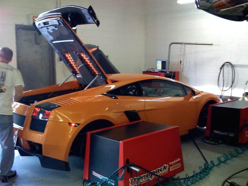 2007  Lamborghini Gallardo Twin Turbo picture, mods, upgrades
