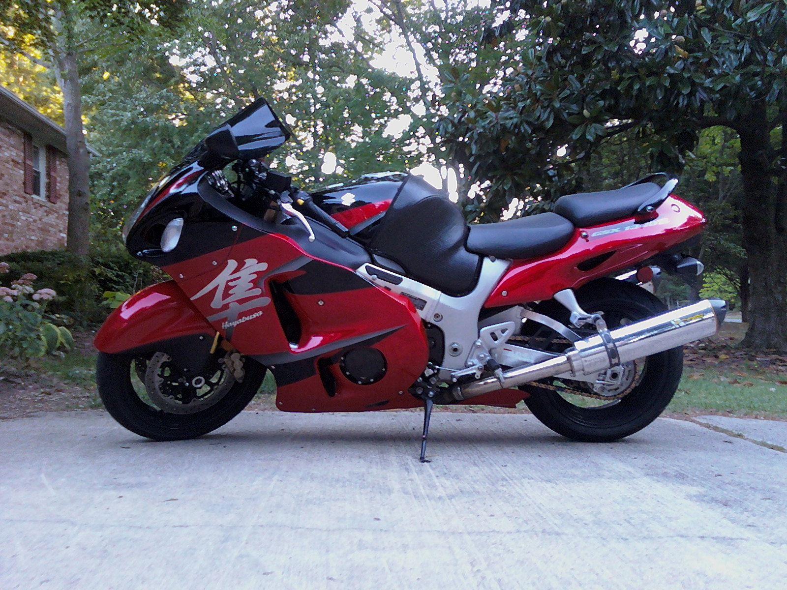 2005  Suzuki Hayabusa  picture, mods, upgrades