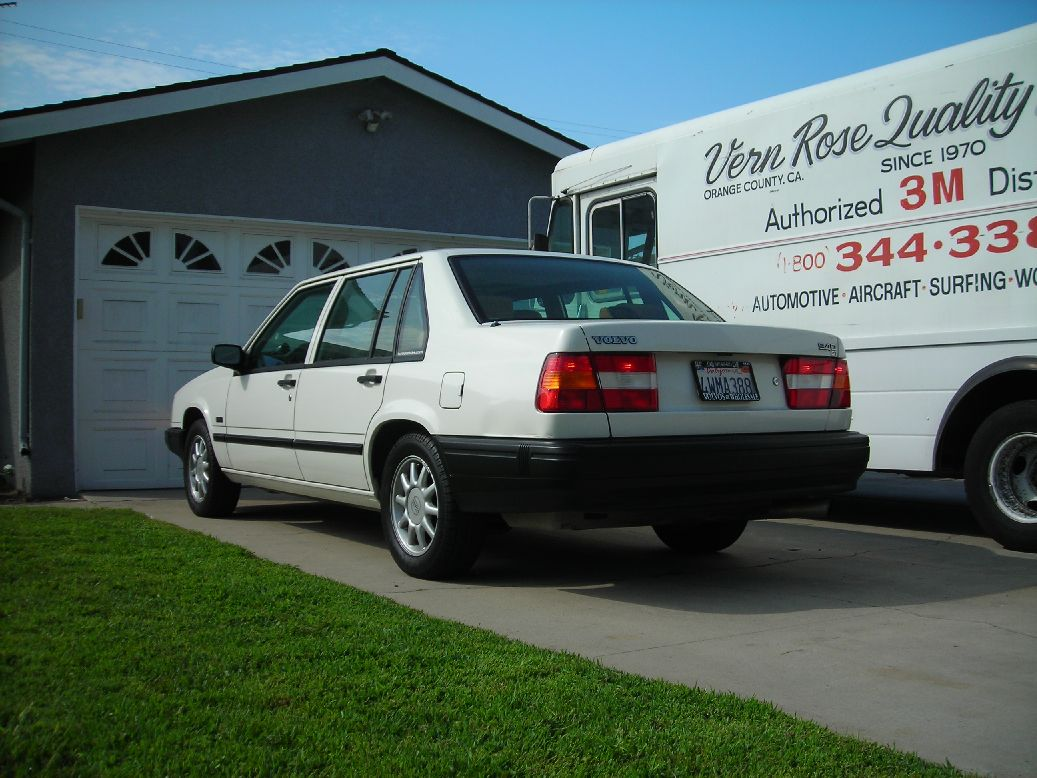 1995 Volvo 940 Turbo 1/4 mile Drag Racing timeslip specs 0 ...