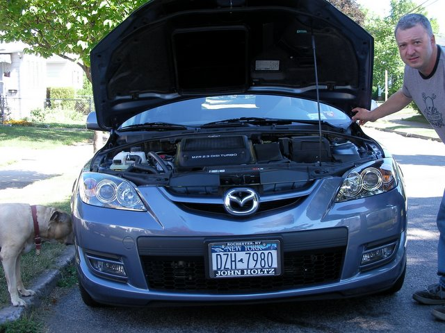 2007  Mazda 3 speed sport picture, mods, upgrades