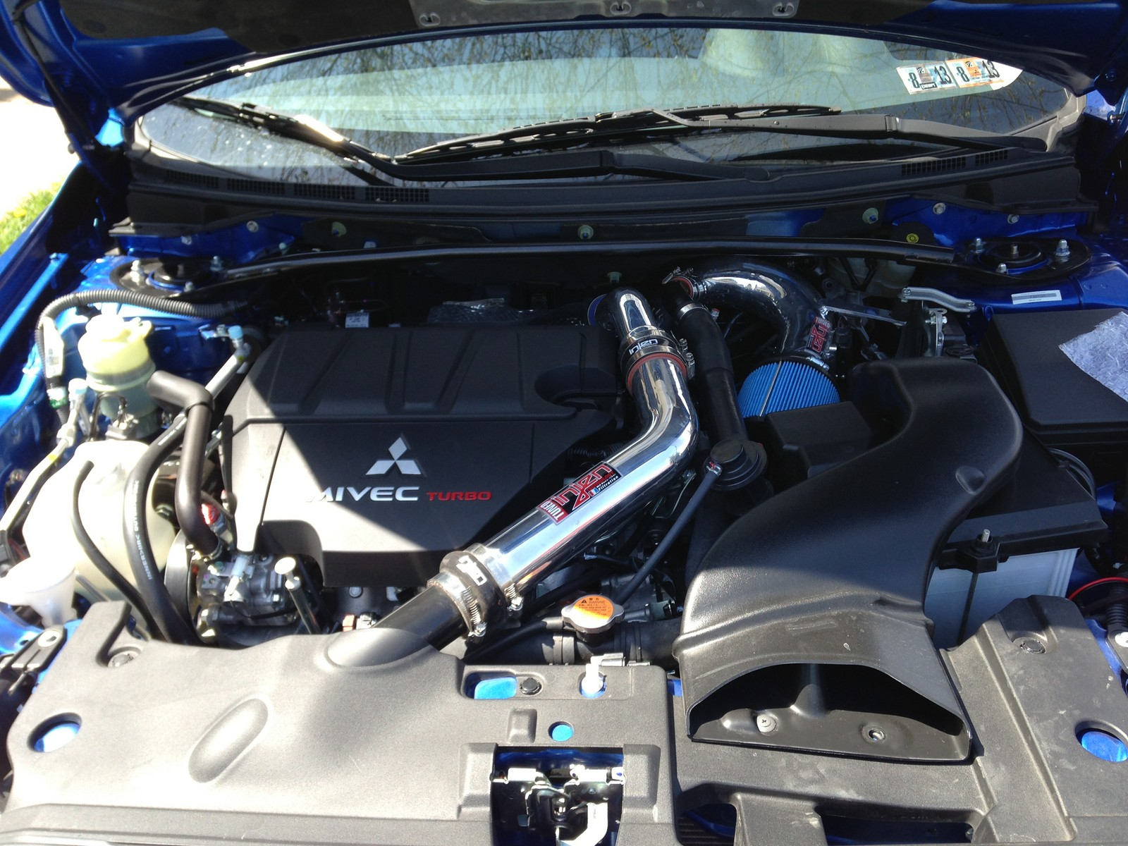 2012 lancer ralliart performance parts