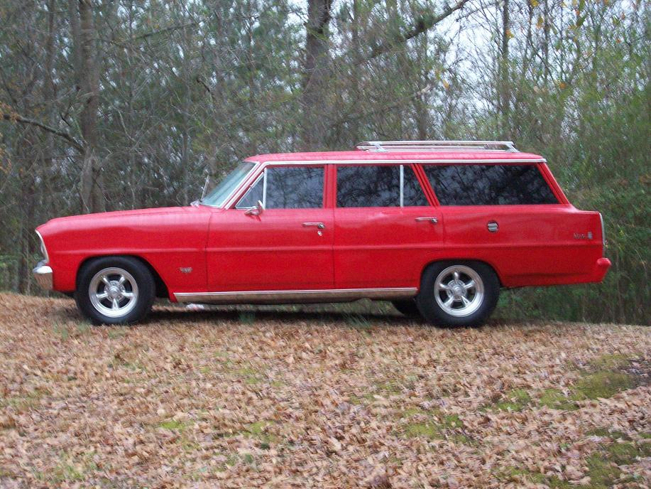 1966  Chevrolet Nova Wagon picture, mods, upgrades