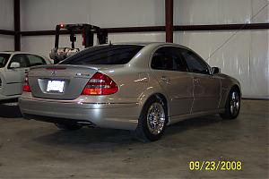 2003  Mercedes-Benz E55 AMG VRP picture, mods, upgrades