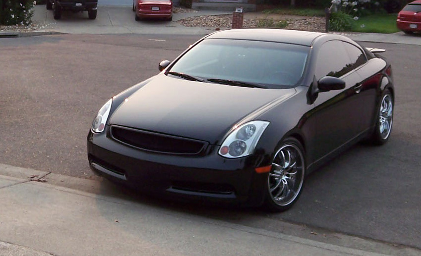 2003  Infiniti G35 Automatic Vortech Supercharger picture, mods, upgrades