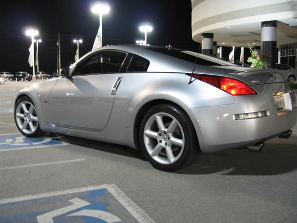 stock 2003 nissan 350z touring 1 4 mile drag racing. Black Bedroom Furniture Sets. Home Design Ideas