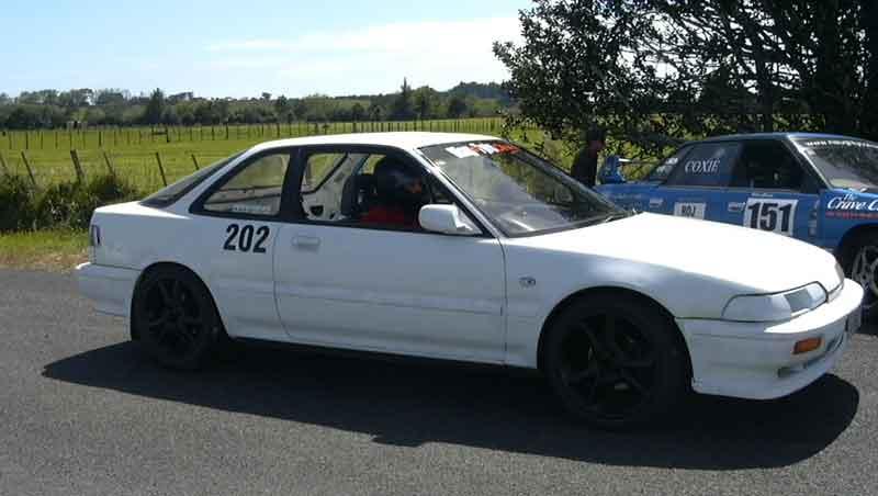1989 Acura Integra da6 xsi jdm import 14 mile trap speeds 060
