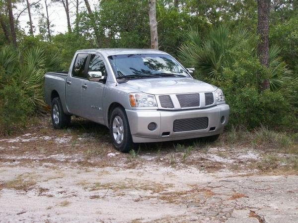 2005  Nissan Titan XE Crew Cab NA FST picture, mods, upgrades