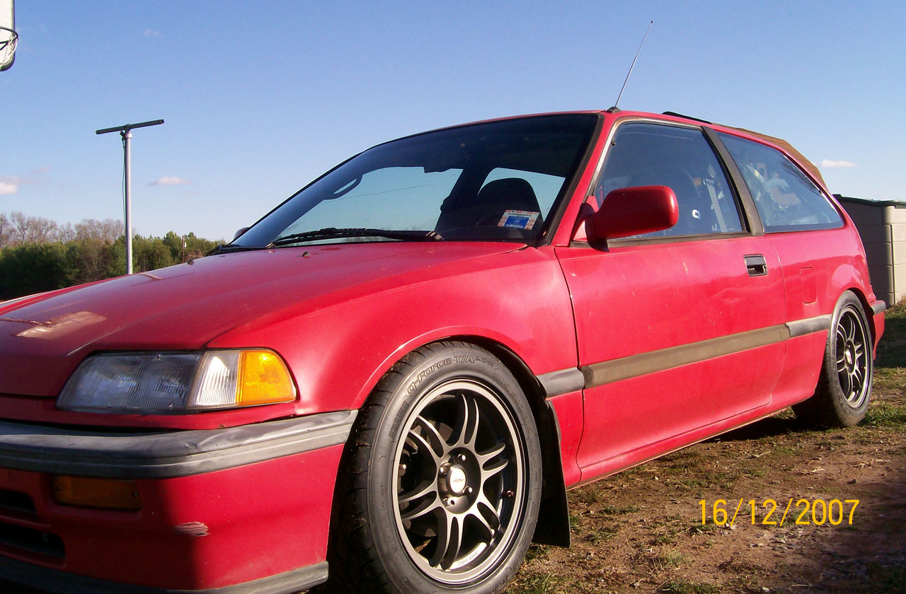 1991 Honda Civic si