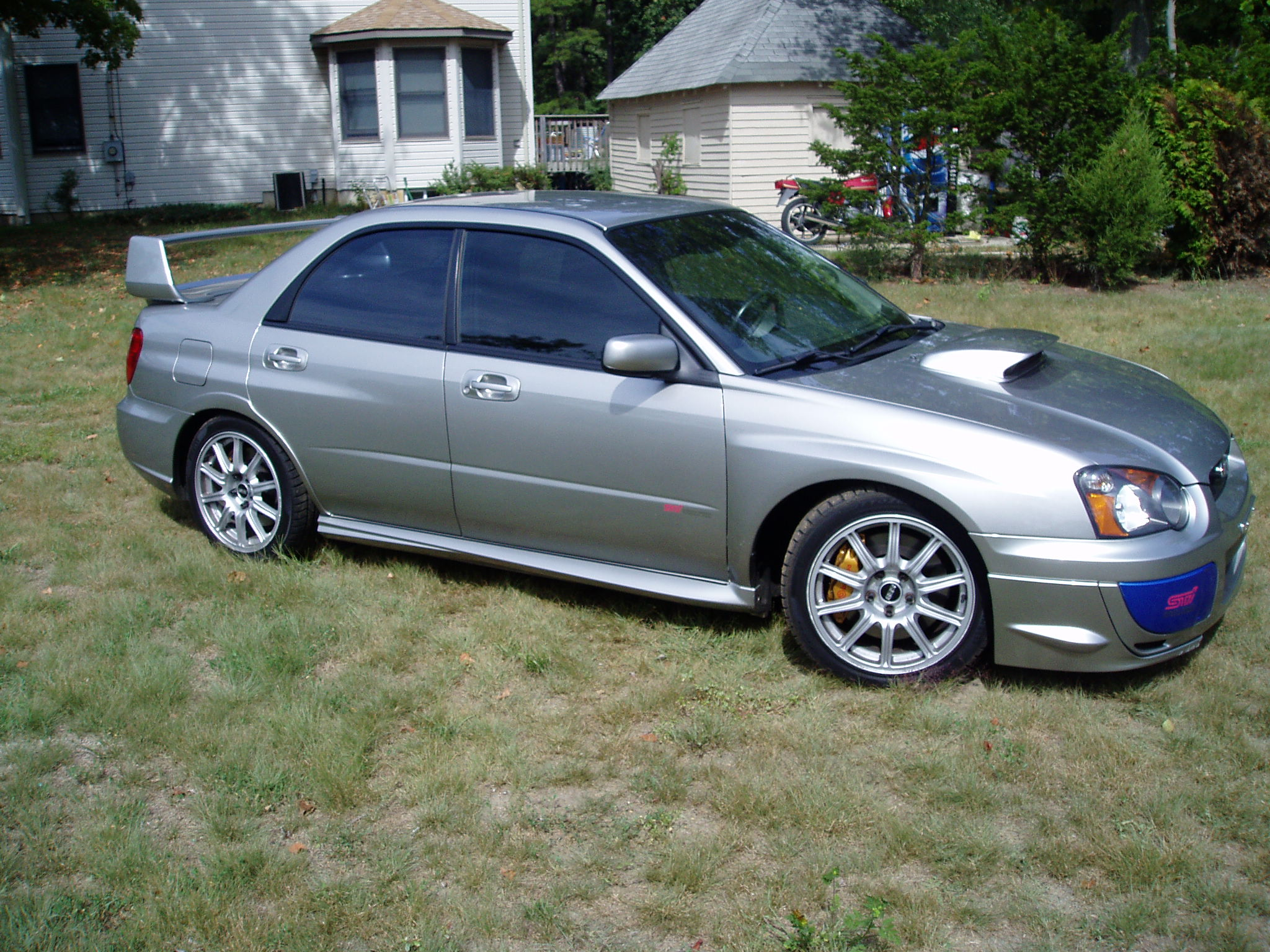 2005  Subaru Impreza STi picture, mods, upgrades