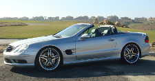 2003  Mercedes-Benz SL55 AMG VRP VR600+ picture, mods, upgrades