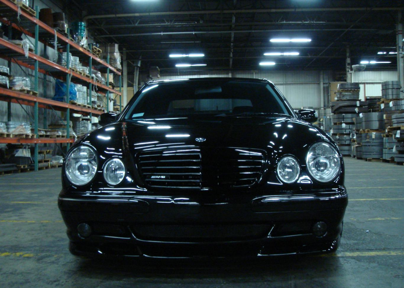 2001  Mercedes-Benz E55 AMG  picture, mods, upgrades
