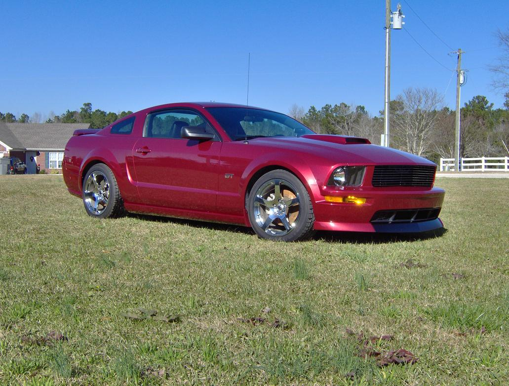2007 Ford Mustang Whipple supercharged