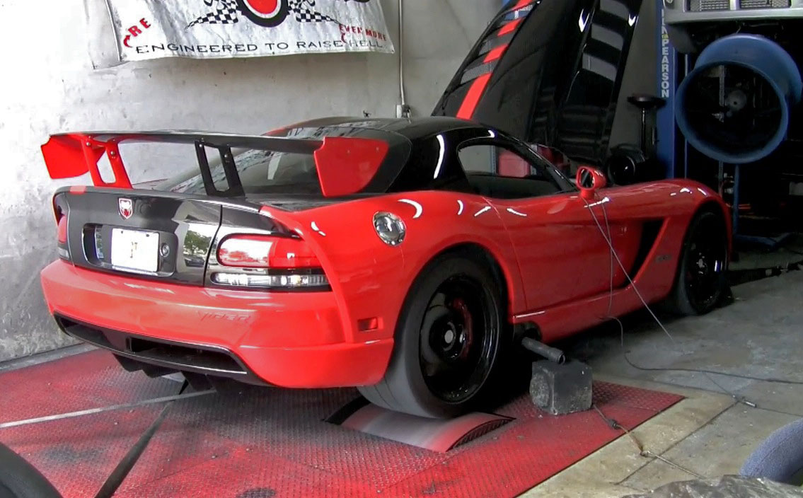 Viper ACR on the Dyno