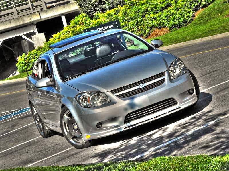 2007 Chevrolet Cobalt SS Supercharged 1/4 mile trap speeds 0-60