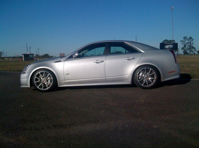 2009 Cadillac CTS-V Headers Pulley Tune
