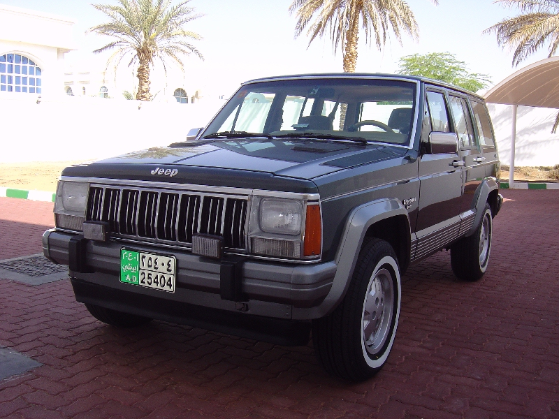 Hunter Green 1992 Jeep Cherokee Laredo