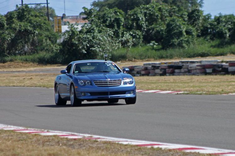 Blue 2006 Chrysler Crossfire SRT-6