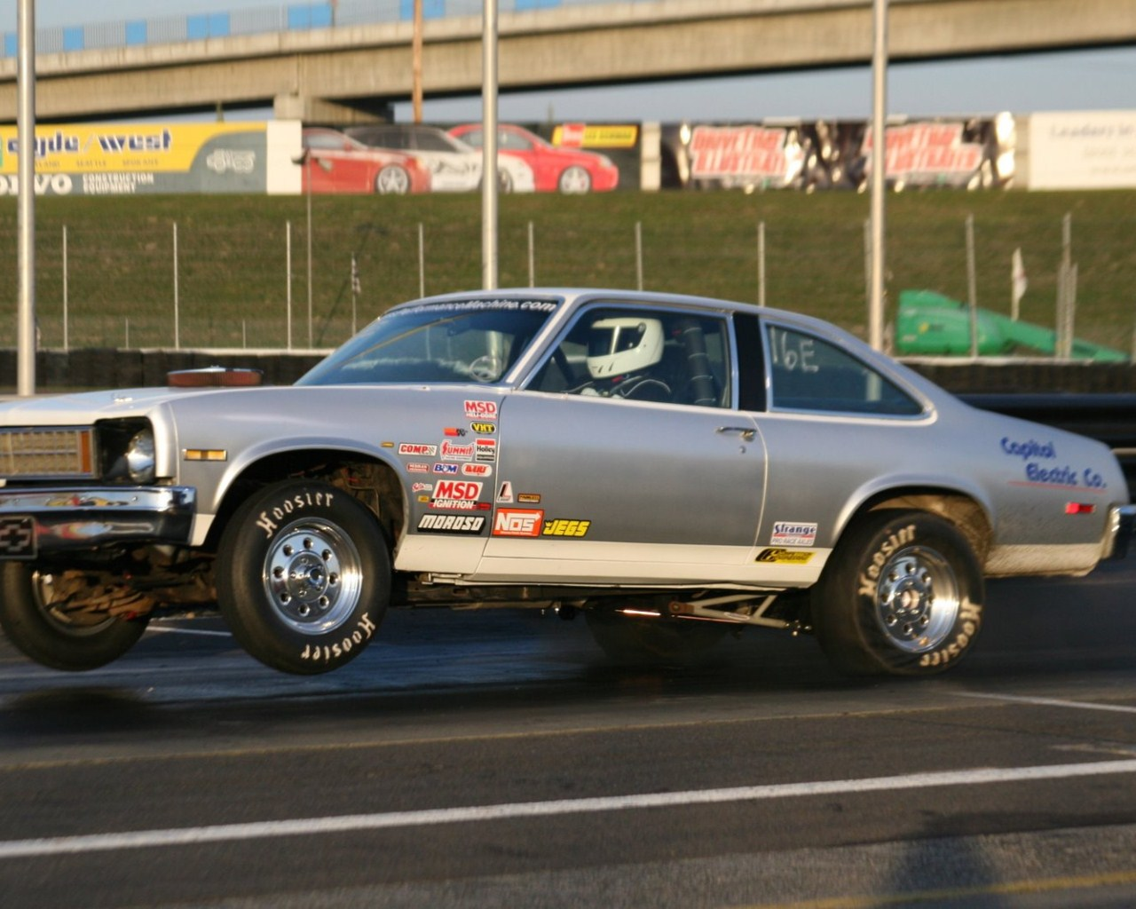 1976  Chevrolet Nova 383 sbc Nitrous picture, mods, upgrades