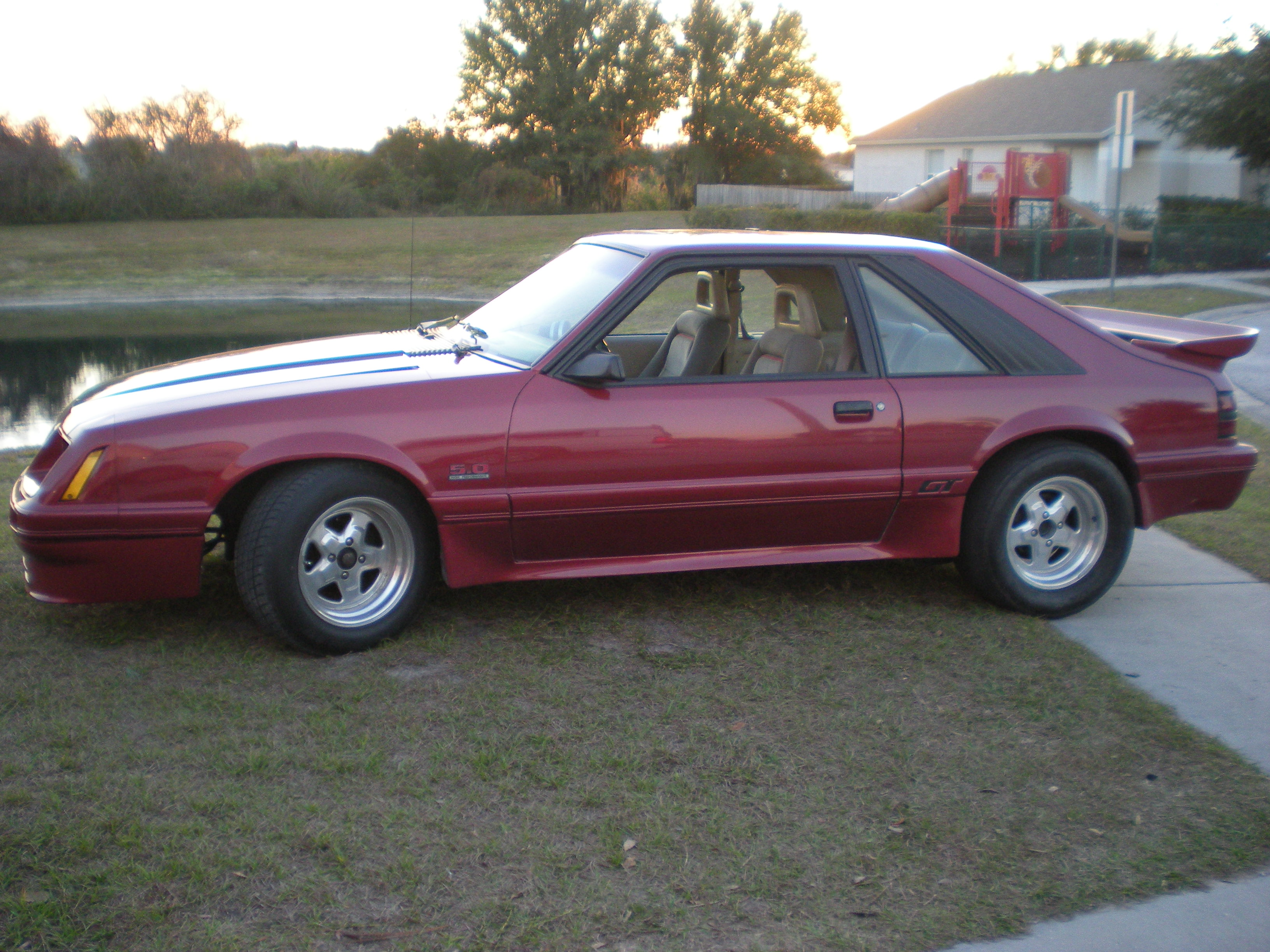 1985 ford mustang gt picture mods upgrades